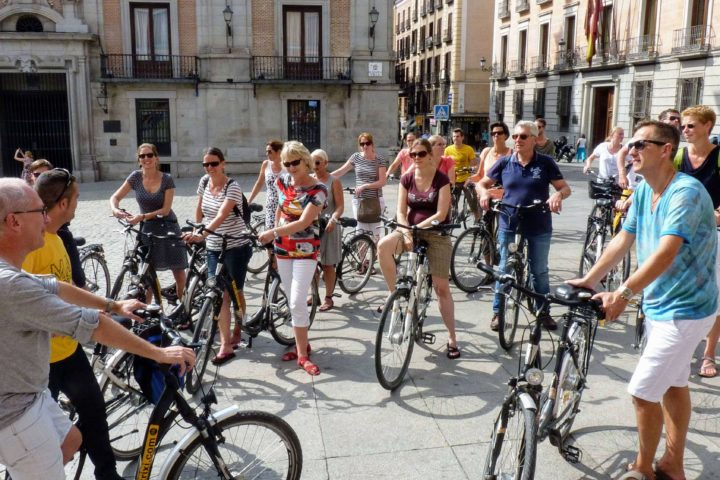 Trixi Madrid Highlights Tour in bicicletta