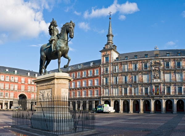 Plaza Mayor Madridē