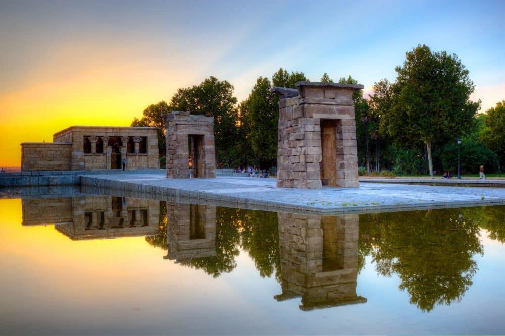 Templo de Debod à Madrid - Temple de Debod - Trixi Bike Tours
