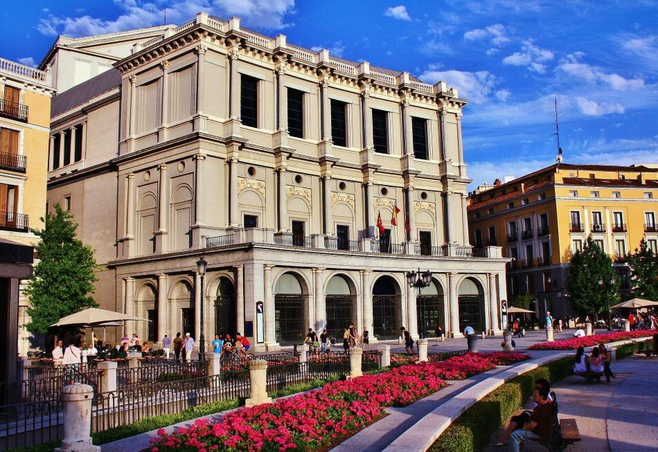 Madrid Plaza Oriente et Théâtre Royal - Trixi Bike Tours