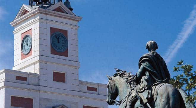 Puerta del Sol Madrid - Dicover beautiful places in Madrid by bike