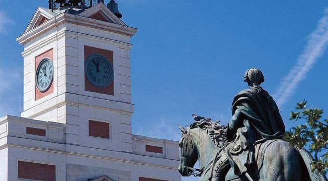 Puerta del Sol Madrid - Découvrez les plus beaux endroits de Madrid à vélo