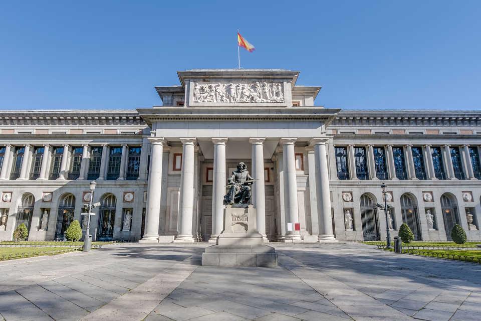 Puntos de interés : Musée du Prado Situé dans un bâtiment historique à Madrid -