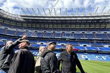 Real Madrid Bike Tour (private groups 4+)