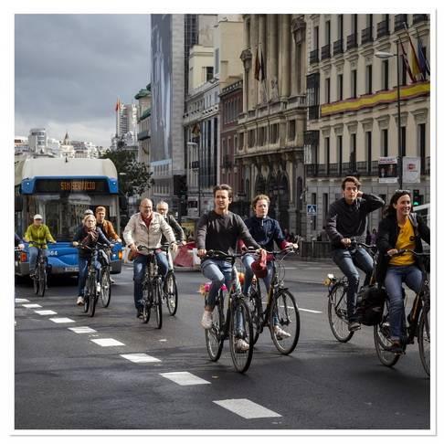 Turul cu bicicleta la Real Madrid - Trixi.com