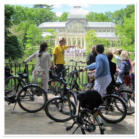 Trixi.com - Ekologiškas dviračių turas po Madridą