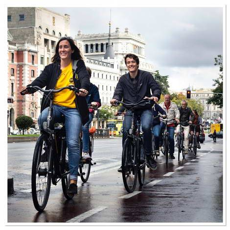 Trixi.com - Madrid - Highlights fietstocht