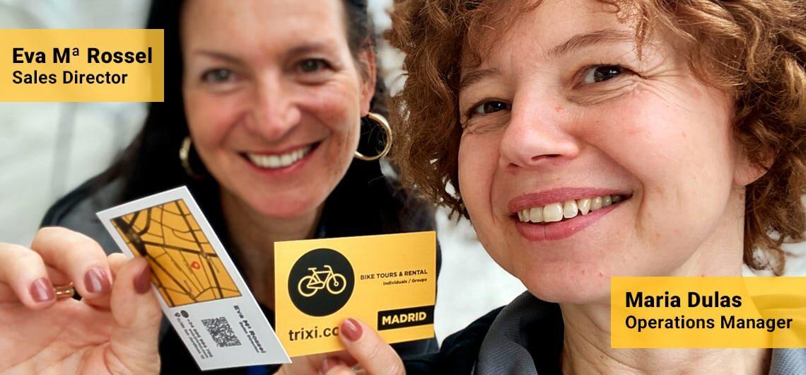 Eva Maria Rossel (销售总监) & Maria Dulas (运营经理)