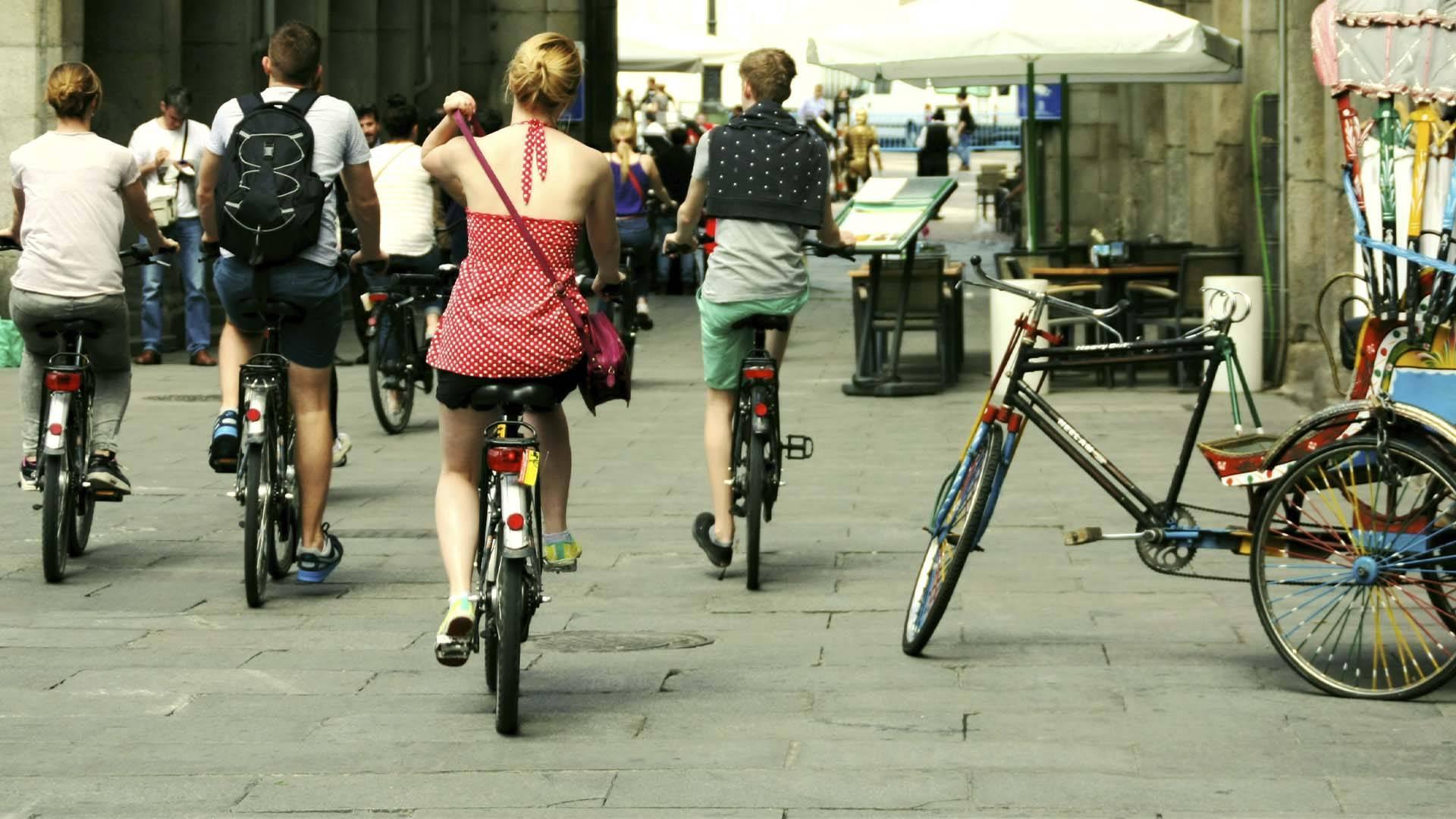 Visite de la mosaïque de Madrid en bicyclette électrique