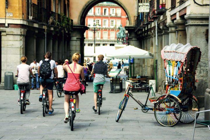Trixi Madrid Mosaic Bike Tour 0013