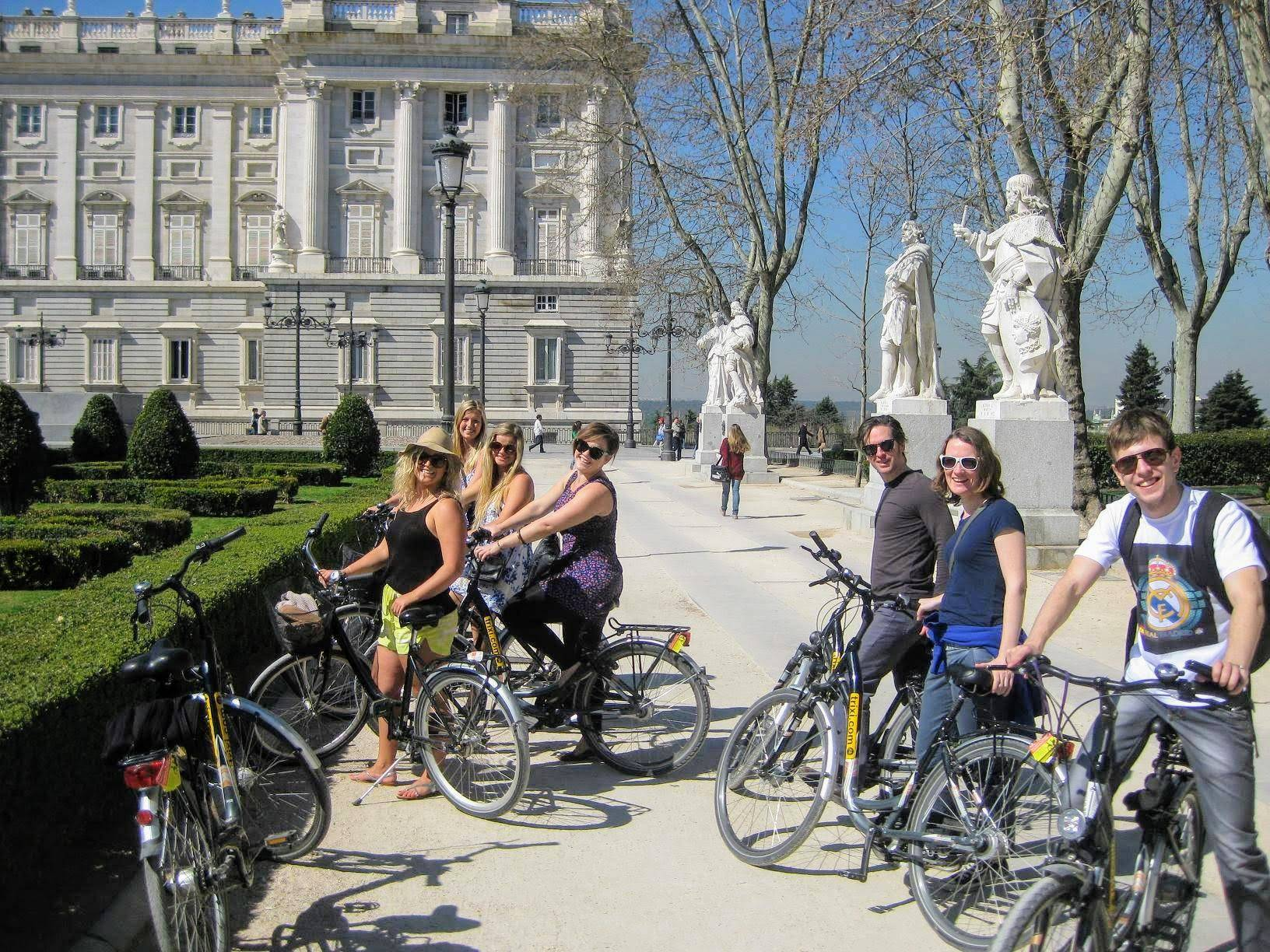 Trixi Madrid - Passeio de Bicicleta Highlights
