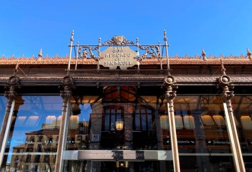 Bike Tour to Mercado de San Miguel in Madrid