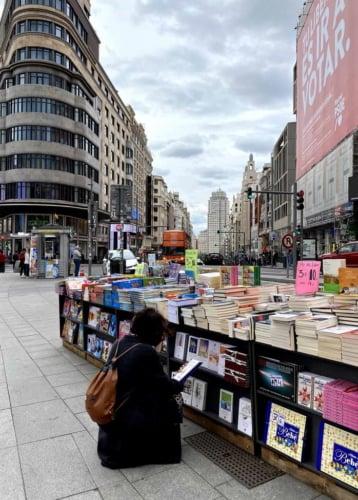 Dia Mundial do Livro 2021 em Madrid